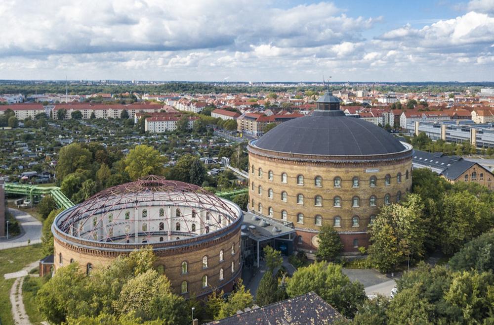 Das Panometer in Leipzig, Ausstellung Assisi